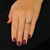 Золотое обручальное кольцо Эйлен Донан
