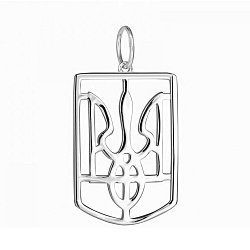 Серебряный кулон Символ Украины 000028520