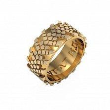 Кольцо из красного золота УРАЛ ИД-П284