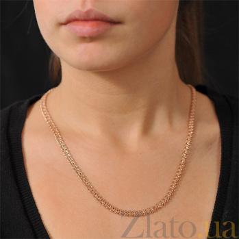 Цепочка из красного золота Арабика EDM--Ц042-1