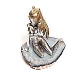 Серебряная статуэтка Мишель