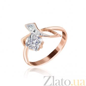 Серебряное кольцо с фианитами Жаклин 000025447