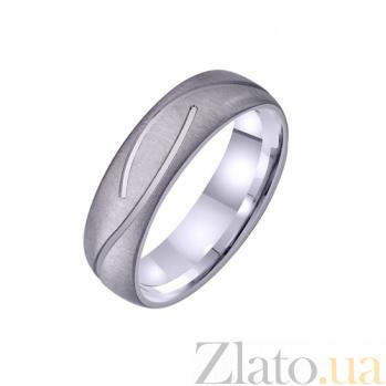 Золотое обручальное кольцо Радость супружества TRF--421243