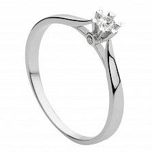 Кольцо из белого золота Свидание с бриллиантом