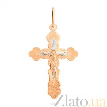 Золотой крестик Прощение SUF--522001р