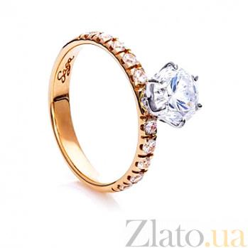 Золотое кольцо с цирконием Моя Единственная SG--61756100