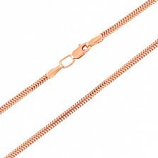 Золотая цепь Снейк 2.5 мм