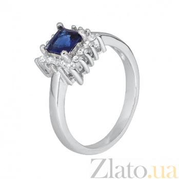 Серебряное кольцо с фианитами Эстер 000028368