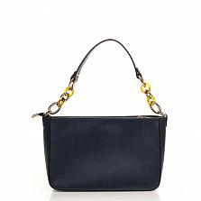 Клатч Italian Bags 8382_blue Кожаный Синий