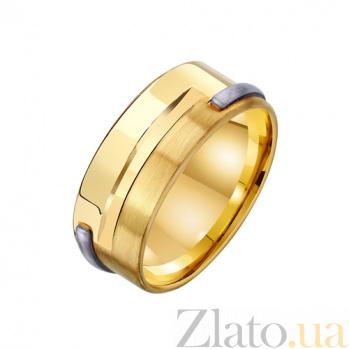 Золотое обручальное кольцо Крепкая семья TRF--451699