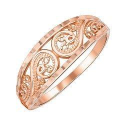 Кольцо из красного золота 000147944