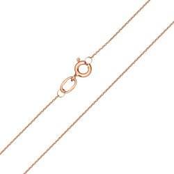 Цепочка из красного золота в якорном плетении 000100152