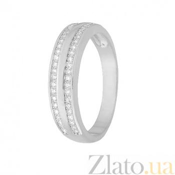 Серебряное кольцо с цирконием Айшвария 000028274
