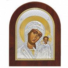 Икона Казанской Божьей Матери, 12х10см