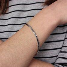 Серебряный браслет Идеальный стиль