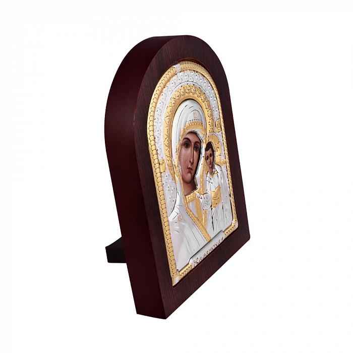 Серебряная икона Божией Матери Казанская 000140108 000140108