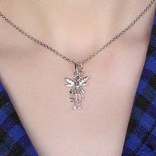 Серебряная подвеска Mad Fairy с цирконием