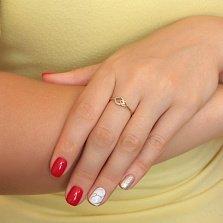 Кольцо из золота с бриллиантами Нонна
