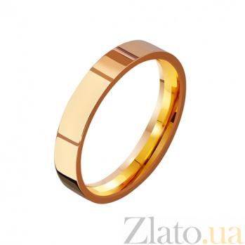 Золотое обручальное кольцо Вечная традиция TRF--4111101
