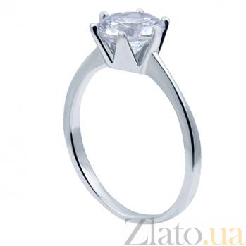 Серебряное кольцо с фианитом Предложение AQA--F-0228