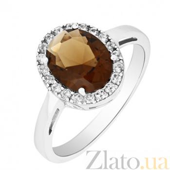 Серебряное кольцо с фианитами Алвена 000025481