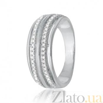 Серебряное кольцо с фианитами Титания SLX--КК2Ф/213
