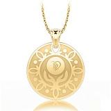 Золотой подвес с бриллиантами Талисман: Веры