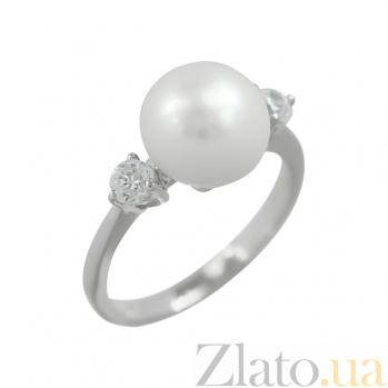 Серебряное кольцо с жемчугом Мэган 3К846-0127