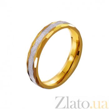 Золотое обручальное кольцо Блестящий путь TRF--4411640