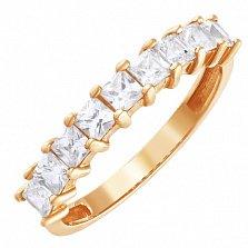 Золотое кольцо Максимум с фианитами