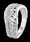 Серебряное кольцо с фианитами Айгуль 000025729
