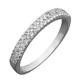 Серебряное кольцо Айрин с цирконием