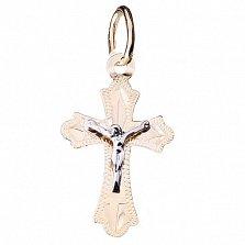 Золотой крестик Вознесение