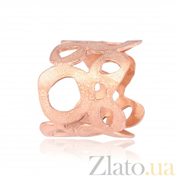 Серебряное кольцо с позолотой Бетти 000028225