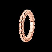 Кольцо из розового золота Perlée малая модель