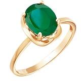 Золотое кольцо Юлия с ониксом