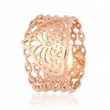 Позолоченное серебряное кольцо Индия