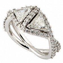 Кольцо Hausmann из белого золота с бриллиантами