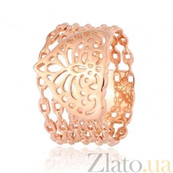 Позолоченное серебряное кольцо Индия 000028221