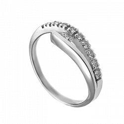 Золотое кольцо с бриллиантами Милен