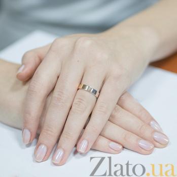 Серебряное кольцо с золотой накладкой Веста Веста к