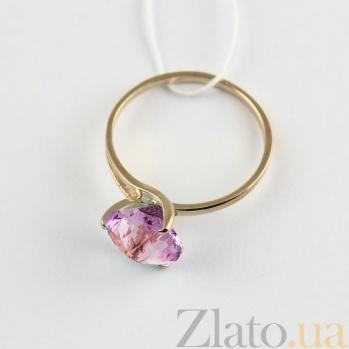 Золотое кольцо с аметистом Селесте VLN--112-202-4