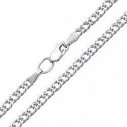 Серебряная цепочка в плетении ромб, 2,5 мм 000118301