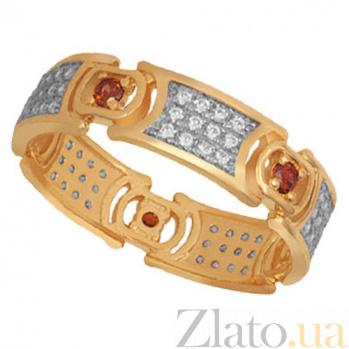 Золотое кольцо с фианитами Мелинда VLT--ТТ1249