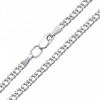 Срібний ланцюжок в плетінні ромб, 2,5 мм 000118301