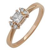Золотое кольцо с бриллиантами Авалайн