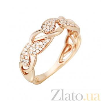 Золотое кольцо с бриллиантами Летняя фантазия 000029277