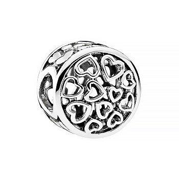 Срібний шарм в стилі Пандора 000087913