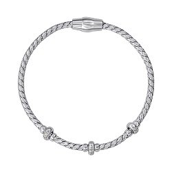 Браслет из серебра с фианитами 000146687