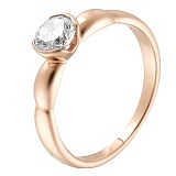 Кольцо золотое помолвочное Милая